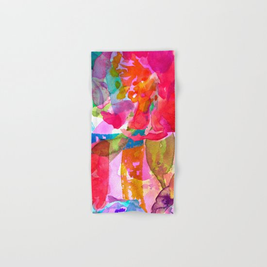 abstract bouquet Hand & Bath Towel