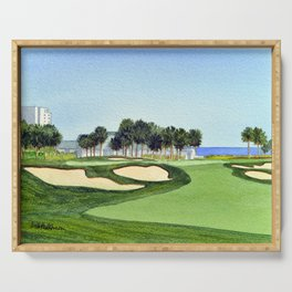 The Dunes Golf Club Myrtle Beach South Carolina Serving Tray