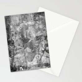 Abstract Concrete Grunge Stationery Cards