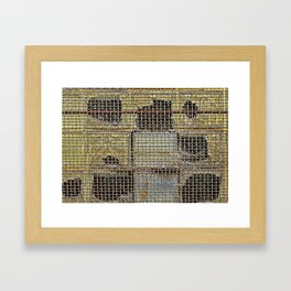 Dirty Windows  Framed Art Print
