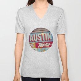 Austin, Texas Unisex V-Neck