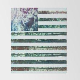 USA Wilderness Throw Blanket