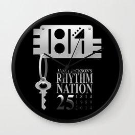 Rhythm Nation's 25th anniversary Wall Clock