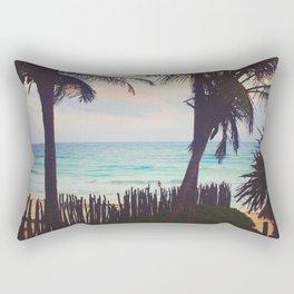 Tropical Candy Sky in Tulum Rectangular Pillow