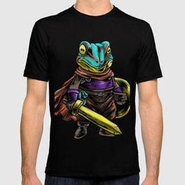 Knight Frog  Shield  Warrior  Sword  Cavalier Gift T-shirt