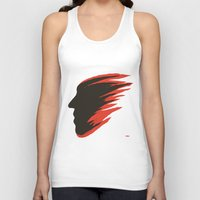 blur Tank Tops featuring Blur Face by Myles Hunt