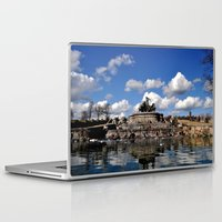 copenhagen Laptop & iPad Skins featuring fountain copenhagen by  Agostino Lo Coco