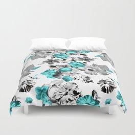 Hula Floral Duvet Cover