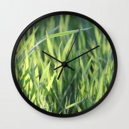 Green Paradise Wall Clock