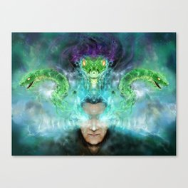 Heart of the serpent Canvas Print