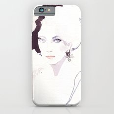 Fashion illustration in watercolors Slim Case iPhone 6s