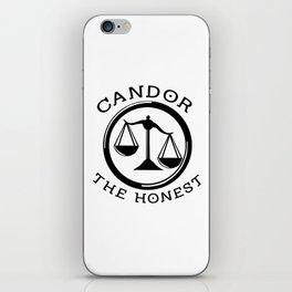 Divergent - Candor The Honest iPhone Skin