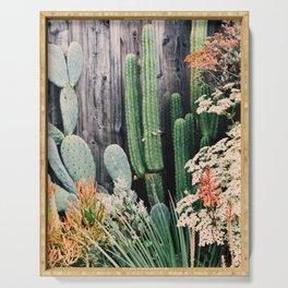 California Cactus Serving Tray