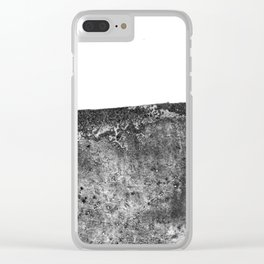 The Margaret / Charcoal + Water Clear iPhone Case