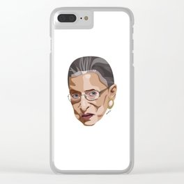 I Dissent / Ruth Bader Ginsburg / Notorious RBG Clear iPhone Case