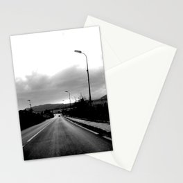 ON THE ROAD, ITALY Stationery Cards