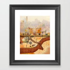 Brooklyn Framed Art Print