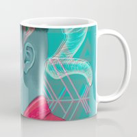 aries Mugs featuring Aries by Musya