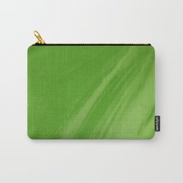 Blurred Emerald Green Wave Trajectory Carry-All Pouch