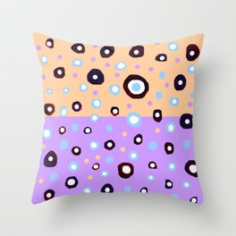 Space meteorite S16 Throw Pillow