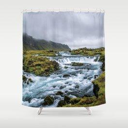 Roadside Retreat Shower Curtain