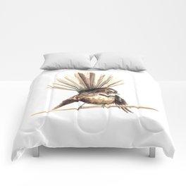 Piwakawaka / Fantail - a native New Zealand bird 2011 Comforters