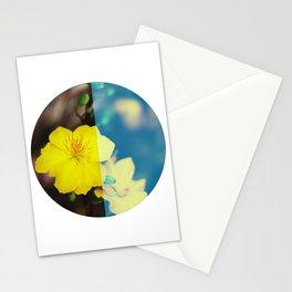 Vietnam Hoa Mai Yellow Apricot Blossom Lunar New Year Stationery Cards