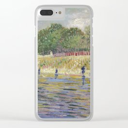 Bank of the Seine by Vincent van Gogh Clear iPhone Case