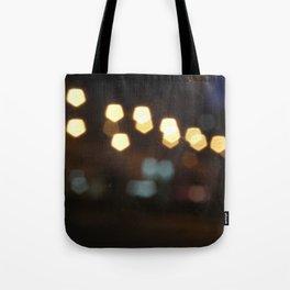 Scrached lightings Tote Bag