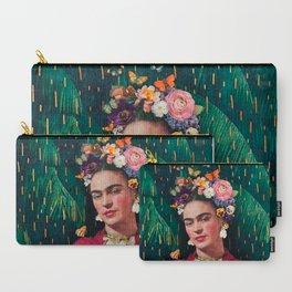 World Women's Day :: Frida Kahlo Carry-All Pouch