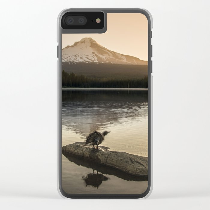 The Oregon Duck II - The Shake Clear iPhone Case