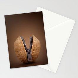 Walnut with Zip Stationery Cards