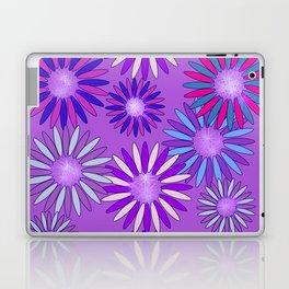 Ultra Violet Floral Poetry Laptop & iPad Skin