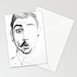 Mr. Mustachio Stationery Cards
