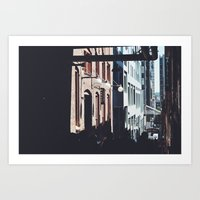 Seattle Alley Art Print