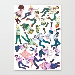 Class 1A Canvas Print