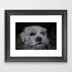 Le Grump Framed Art Print