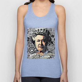 The Queen Unisex Tank Top