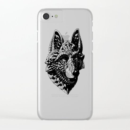German Shepherd Clear iPhone Case