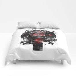 Uchiha Akatsuki Dark Monochrome Comforters