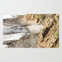 Cliffs Along the Palos Verdes Hills Rug
