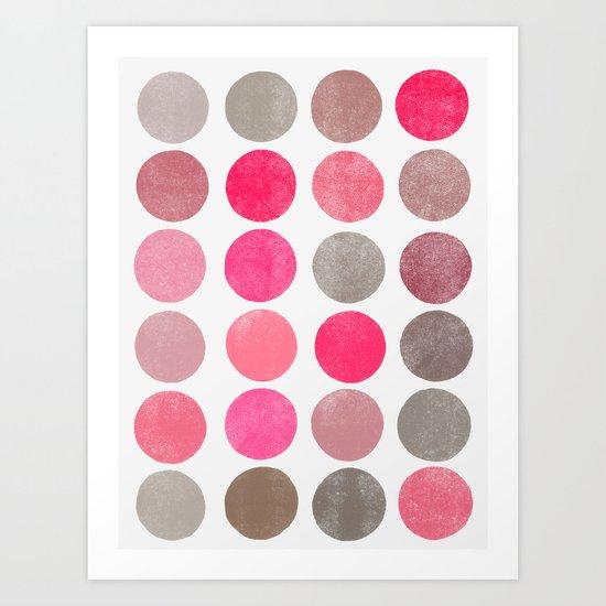 colorplay 4 Art Print
