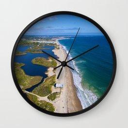 Moonstone Barrier Beach, South Kingstown, Rhode Island South County Wall Clock