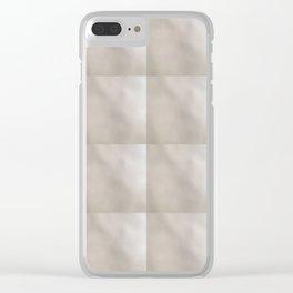 Accidental Art Tile Design Clear iPhone Case