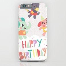 Happy Birthday Party Animals Slim Case iPhone 6s