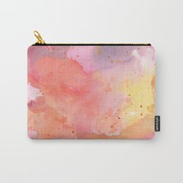 Sunset Color Palette Abstract Watercolor Painting Carry-All Pouch