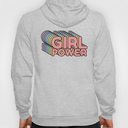Girl Power grl pwr Retro Hoody