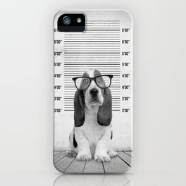 Guilty Puppy iPhone Case