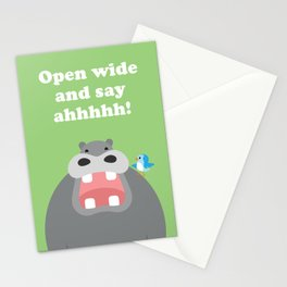 Open Wide and Say Ahhhhh! Stationery Cards