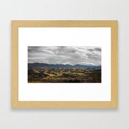 Central Otago in Winter Framed Art Print